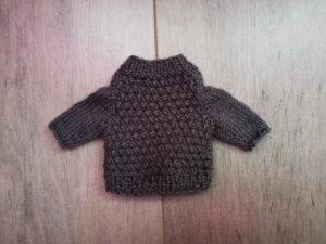 Pull pour lapin au tricot