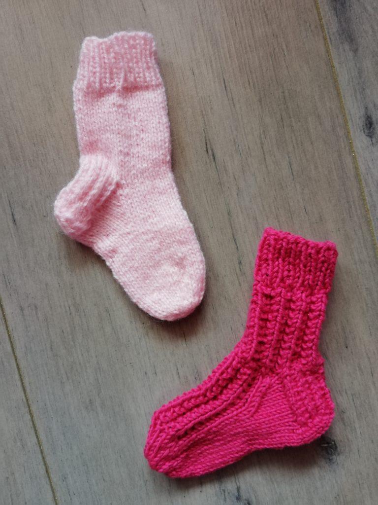marques pages chaussettes au tricot