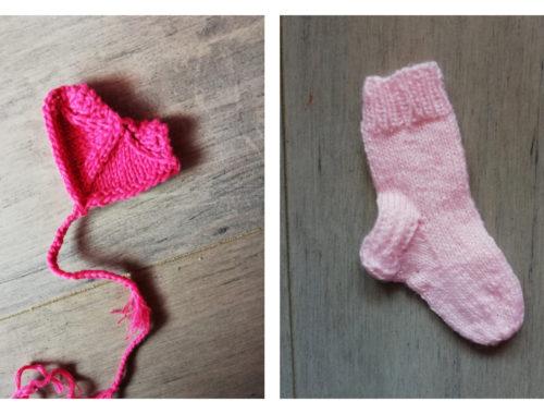 marque pages au tricot