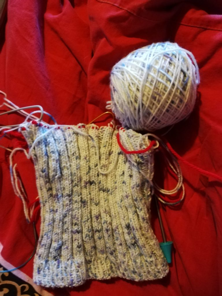 My Little Secret Top tricot en-cours
