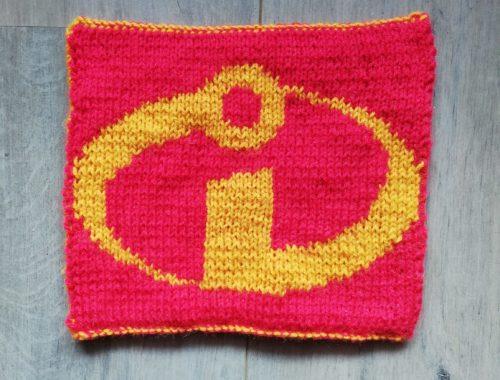 Carré indestructibles au tricot