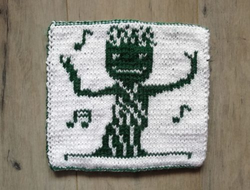 Carré Groot tricot