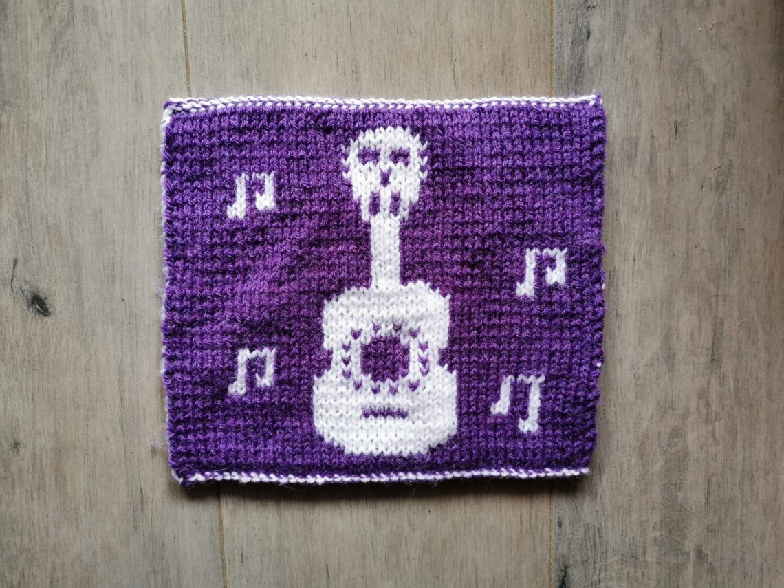 Carré Coco tricot