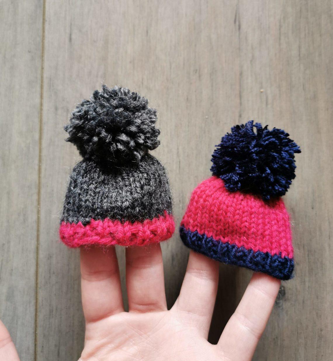 petits bonnets tricot