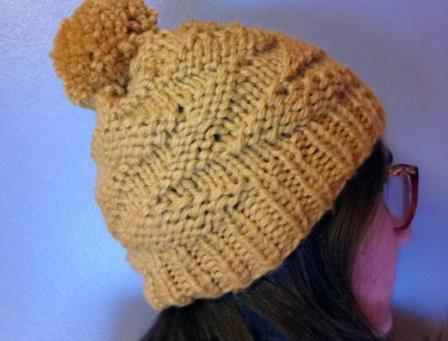 Bonnet Parallelogram hat tricot