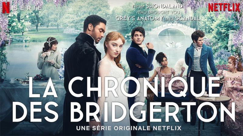 affiche bridgerton netflix-Banniere