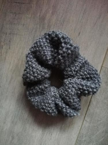 Scrunchie au point de riz